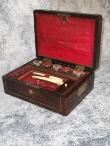 Regency rosewood vanity box