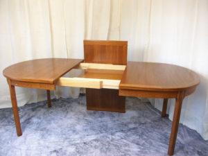Teak dinning table by Nils Jonsson
